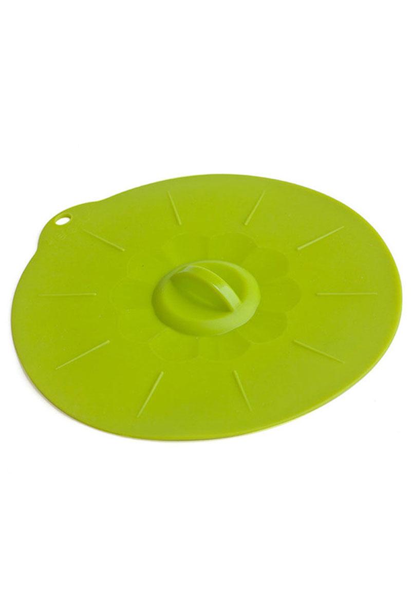 Крышка силиконовая Calve, цвет: салатовый. Диаметр 24 смCL-4555Крышка Calve выполнена из пищевого силикона. Она предназначена для герметичного закрытия любой посуды. Крышка плотно прилегает к краям емкости, ограничивая доступ воздуха внутрь, благодаря этому ваши продукты останутся свежими гораздо дольше. Основные свойства: - выдерживает температуру от -40°С до +230°С, - невозможно разбить, - легко моется, - не деформируется при хранении в свернутом виде, - имеет долгий срок службы, сохраняя свой первоначальный вид, - не выделяет вредных веществ при нагревании или охлаждении, - не впитывает запахи, - не вступает в химическую реакцию с продуктами, - подходит для использования в духовом шкафу и микроволновой печи без использования режима Гриль, морозильной камере и для мытья в посудомоечной машине.