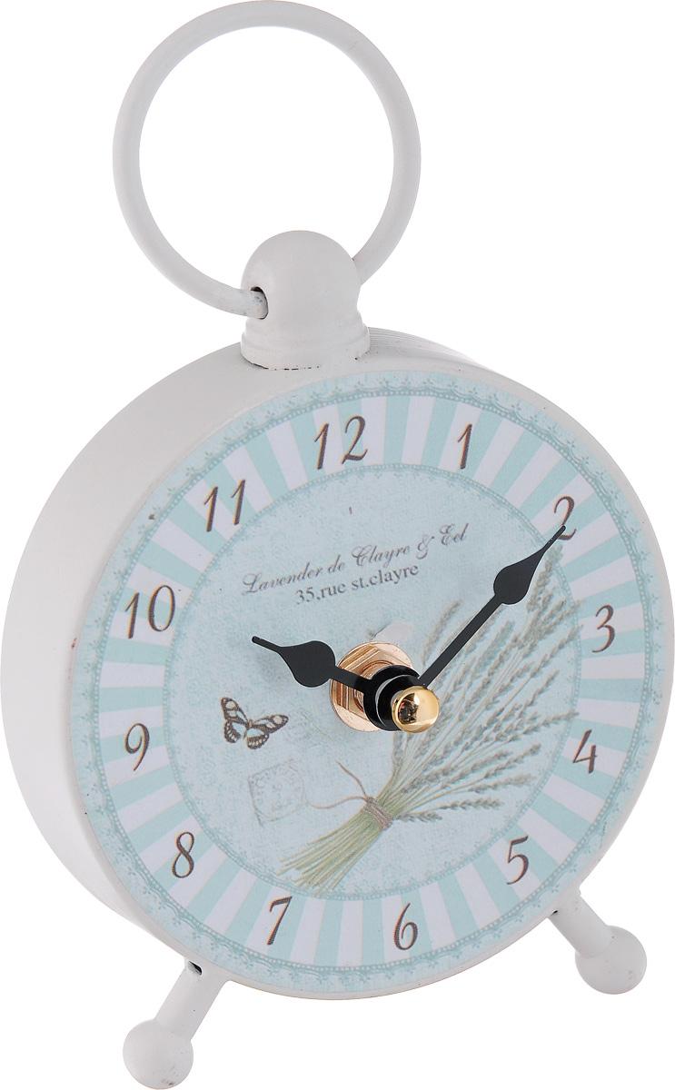 Часы настольные Феникс-Презент Полоски40738Настольные часы круглой формы Феникс-Презент Полоски своим эксклюзивным дизайном подчеркнут оригинальность интерьера вашего дома. Часы выполнены из металла и имеют две стрелки - часовую и минутную. Настольные часы Феникс-Презент Полоски подходят для кухни, гостиной, прихожей или дачи, а также могут стать отличным подарком для друзей и близких. ВНИМАНИЕ!!! Часы работают от сменной батареи типа АА 1,5V (в комплект не входит).