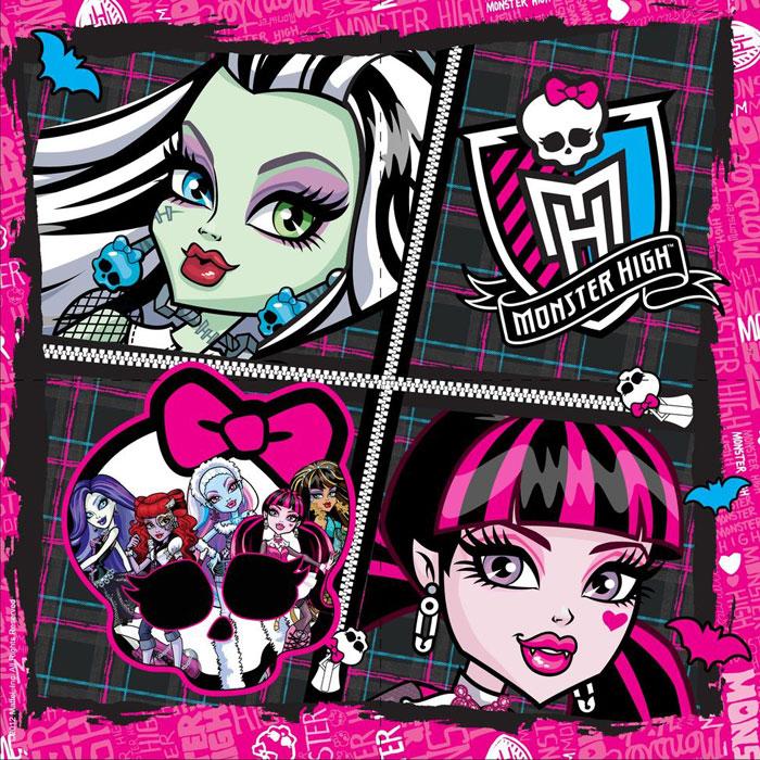 Monster High Салфетки Страшно красивые 20 шт