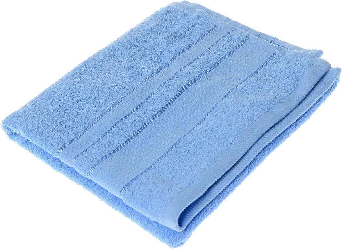 Полотенце махровое Aisha Home Textile Классика, цвет: голубой, 50 х 90 смУзТ-ПМ-112-08-06Полотенце Aisha Home Textile Классика выполнено из натуральной махровой ткани (100% хлопок). Изделие отлично впитывает влагу, быстро сохнет, сохраняет яркость цвета и не теряет форму даже после многократных стирок. Полотенце очень практично и неприхотливо в уходе. Оно станет достойным выбором для вас и приятным подарком для ваших близких.