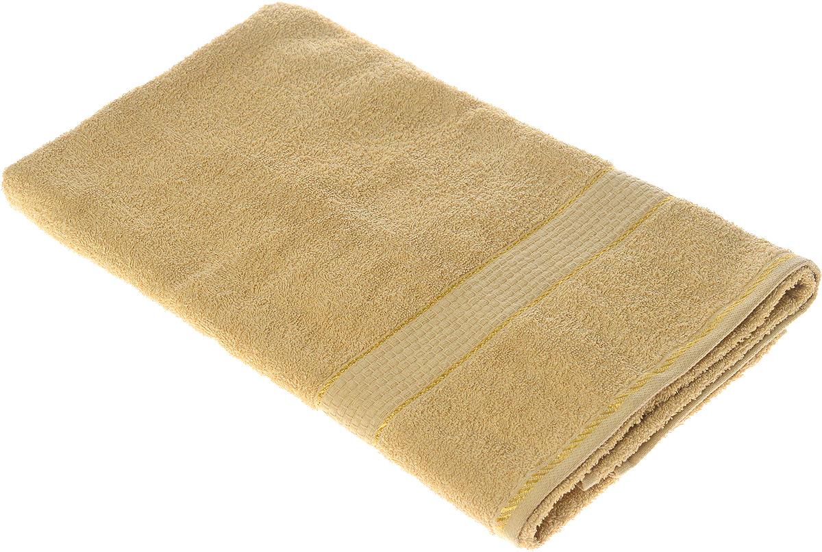 Полотенце махровое Aisha Home Textile Соты, цвет: бежевый, 70 х 140 смУзТ-ПМ-114-08-03Полотенце Aisha Home Textile Соты выполнено из натуральной махровой ткани (100% хлопок). Изделие отлично впитывает влагу, быстро сохнет, сохраняет яркость цвета и не теряет форму даже после многократных стирок. Полотенце очень практично и неприхотливо в уходе. Оно создаст прекрасное настроение и украсит интерьер в ванной комнате.