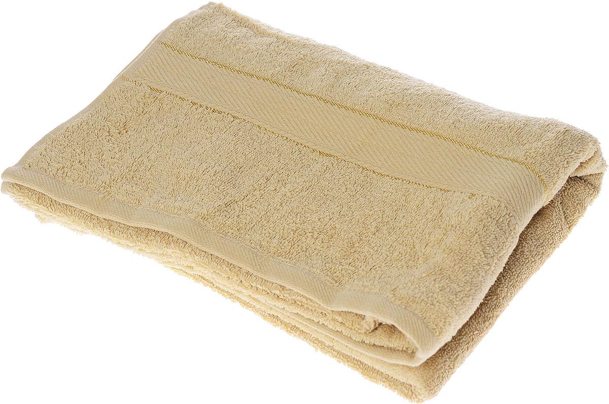 Полотенце махровое Osborn Textile Коса, цвет: кофе с молоком, 70 х 140 см531-401Полотенце Osborn Textile Коса выполнено из натуральной махровой ткани (100% хлопок). Изделие отлично впитывает влагу, быстро сохнет, сохраняет яркость цвета и не теряет форму даже после многократных стирок. Полотенце очень практично и неприхотливо в уходе. Оно создаст прекрасное настроение и украсит интерьер в ванной комнате.