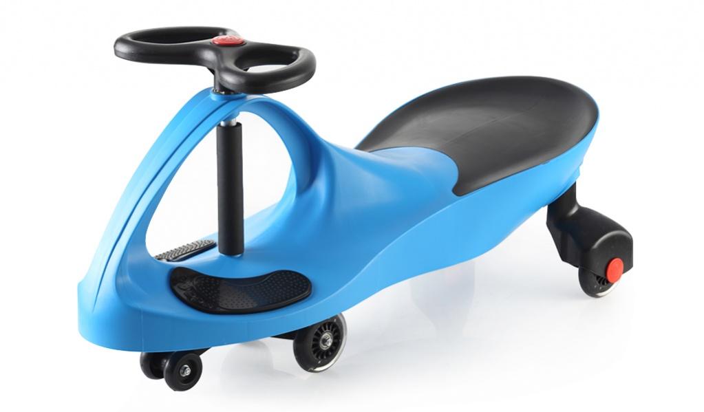 Bradex Каталка Бибикар с полиуретановыми колесами цвет синий