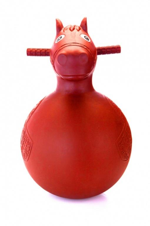 Bradex Игрушка-попрыгун Веселая лошадка цвет красный
