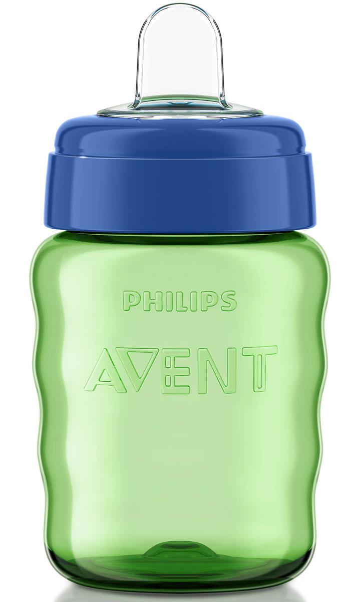 Philips Avent Поильник-непроливайка Comfort от 12 месяцев цвет салатовый синий 260 мл SCF553/00