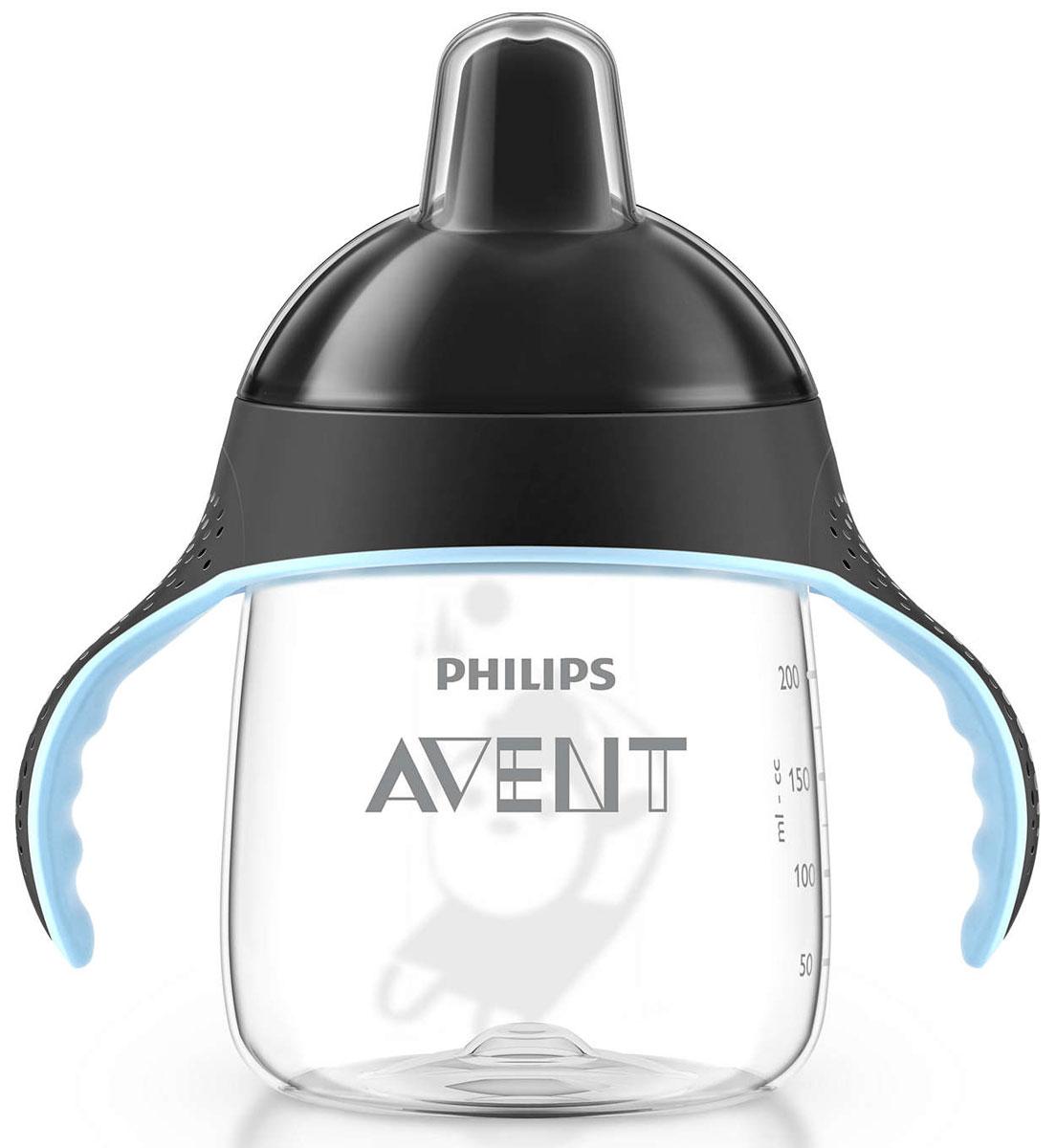 Philips Avent Волшебная чашка-непроливайка для детей от 12мес., черный SCF753/00