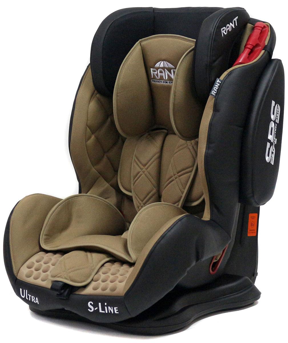 Rant Автокресло Ultra SPS цвет кофейный от 9 до 36 кг4630008878767Автокресло Rant Ultra SPS группы 1-2-3 предназначено для детей весом от 9 до 36 кг (возраст от 9 месяцев до 12 лет), крепится штатными ремнями безопасности автомобиля, устанавливается по ходу движения автомобиля. Кресло оснащено пятиточечным ремнем безопасности с мягкими плечевыми накладками и антискользящими нашивками, 3-х ступенчатой настройкой высоты подголовника, корректировкой высоты ремня безопасности по уровню подголовника. 3 положения наклона корпуса, устойчивая база, фиксатор высоты штатных ремней безопасности, дополнительная боковая защита, съемный чехол, мягкий съемный вкладыш для малыша делают это кресло идеальным средством для защиты ребенка во время передвижения на автомобиле. Сертификат Европейского Стандарта Безопасности ЕCE R44/04.