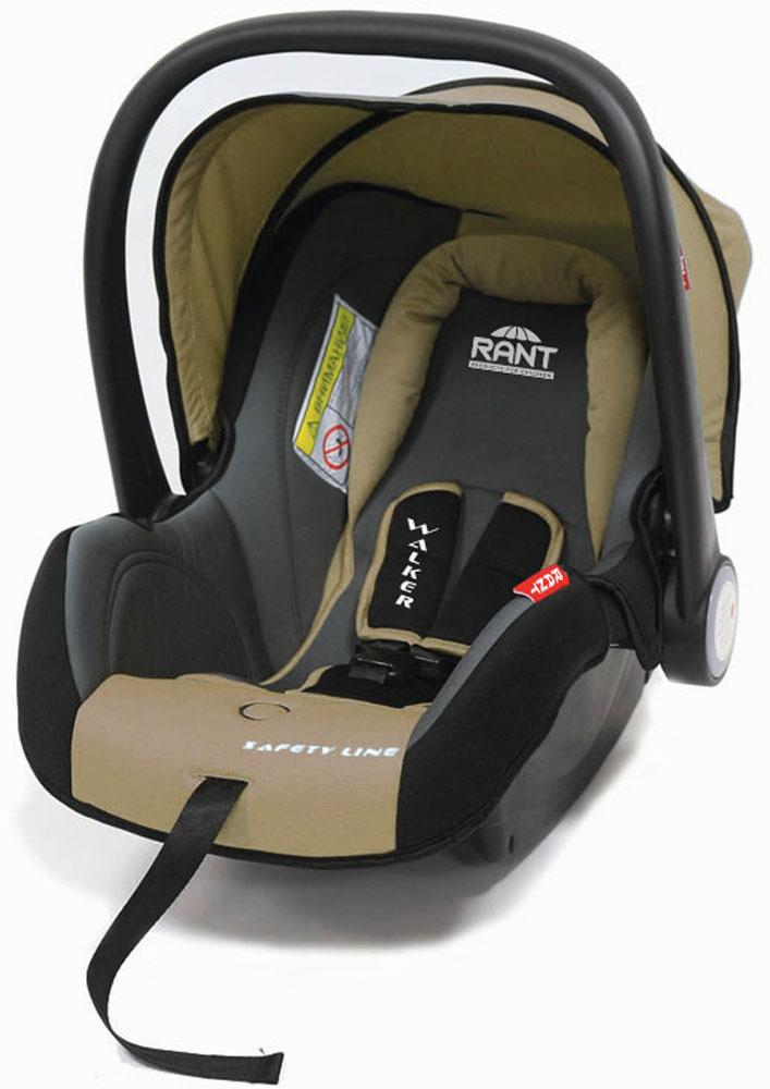 Rant Автокресло Walker цвет бежевый до 13 кг4630008874295Детское автокресло-переноска Walker предназначено для малышей весом до 13 кг (приблизительно до 12 месяцев). Особенности:Сиденье удобной формы с мягким вкладышем обеспечивает защиту и идеальное положение шеи и спины малыша, а также делает кресло комфортным и безопасным. Автокресло (переноска) Walker имеет внутренние 3-х точечные ремни безопасности с плечевыми накладками (уменьшают нагрузку на плечи малыша). Накладки обеспечивают плотное прилегание и надежно удержат малыша в кресле в случае ударов. Ремни удобно регулировать под рост и комплекцию ребенка без особых усилий. Удобная ручка для переноски малыша регулируется в 4-х положениях: для устойчивости автокресла в автомобиле, для переноски малыша, вне автомобиля автокресло можно использовать как кресло-качалку или кресло-шезлонг. Съемный капюшон защитит от яркого солнца или дождя, когда вы гуляете с малышом на свежем воздухе. Съемный чехол автокресла Walker изготовлен из экологичной, эластичной ткани, легко чистится и...