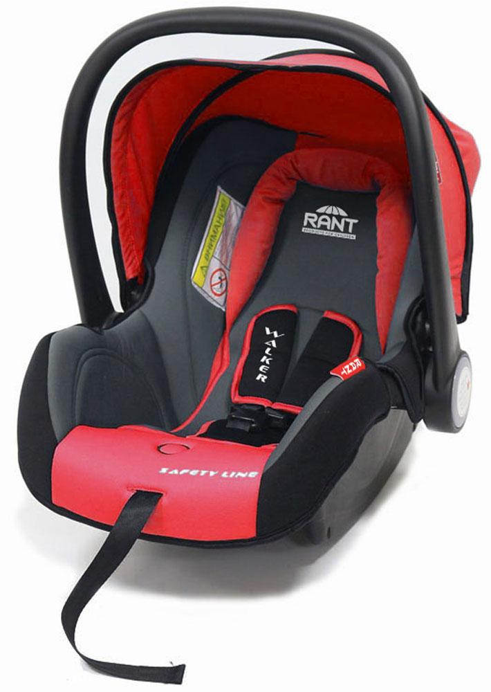 Rant Автокресло Walker цвет красный до 13 кг4630008874301Детское автокресло-переноска Walker предназначено для малышей весом до 13 кг (приблизительно до 12 месяцев). Особенности:Сиденье удобной формы с мягким вкладышем обеспечивает защиту и идеальное положение шеи и спины малыша, а также делает кресло комфортным и безопасным. Автокресло (переноска) Walker имеет внутренние 3-х точечные ремни безопасности с плечевыми накладками (уменьшают нагрузку на плечи малыша). Накладки обеспечивают плотное прилегание и надежно удержат малыша в кресле в случае ударов. Ремни удобно регулировать под рост и комплекцию ребенка без особых усилий. Удобная ручка для переноски малыша регулируется в 4-х положениях: для устойчивости автокресла в автомобиле, для переноски малыша, вне автомобиля автокресло можно использовать как кресло-качалку или кресло-шезлонг. Съемный капюшон защитит от яркого солнца или дождя, когда вы гуляете с малышом на свежем воздухе. Съемный чехол автокресла Walker изготовлен из экологичной, эластичной ткани, легко чистится и...