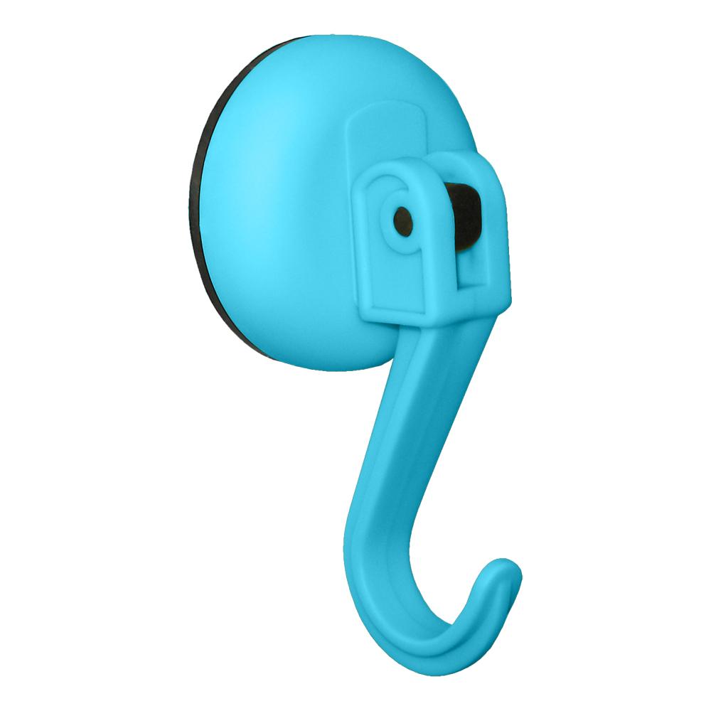 Крючок Tatkraft Kalev Magic Hook, на вакуумной присоске, цвет: синий, диаметр 6 см11984Tatkraft KALEV MAGIC HOOK Синий, Крючок на вакуумной присоске d 60 мм, в блистере. Крепление на гладких нешероховатых поверхностях. Макс. вес до 5 кг.