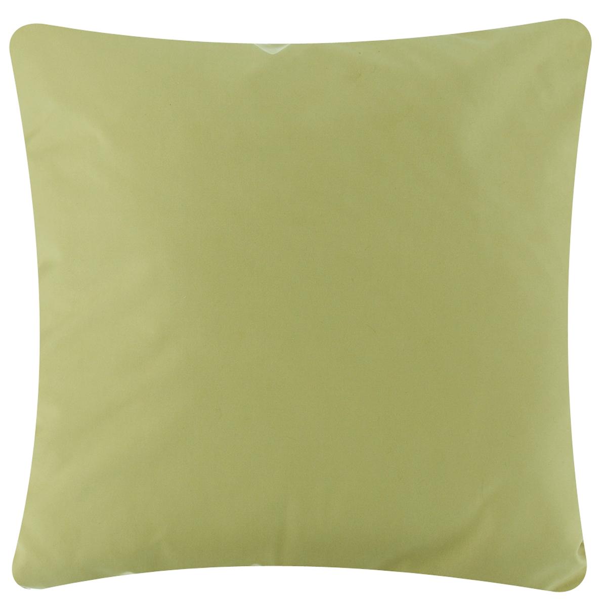 Подушка декоративная Proffi Оливки, 43 х 43 смPH5940Декоративная подушка Proffi Оливки - это яркое украшение вашего дома. Чехол выполнен из приятного на ощупь полиэстера и закрывается на молнию. Внутри - мягкий наполнитель, изготовленный из синтепона. Лицевая сторона подушки одного цвета, задняя - другого. Стильная и яркая подушка эффектно украсит интерьер и добавит в привычную обстановку изысканность и роскошь.