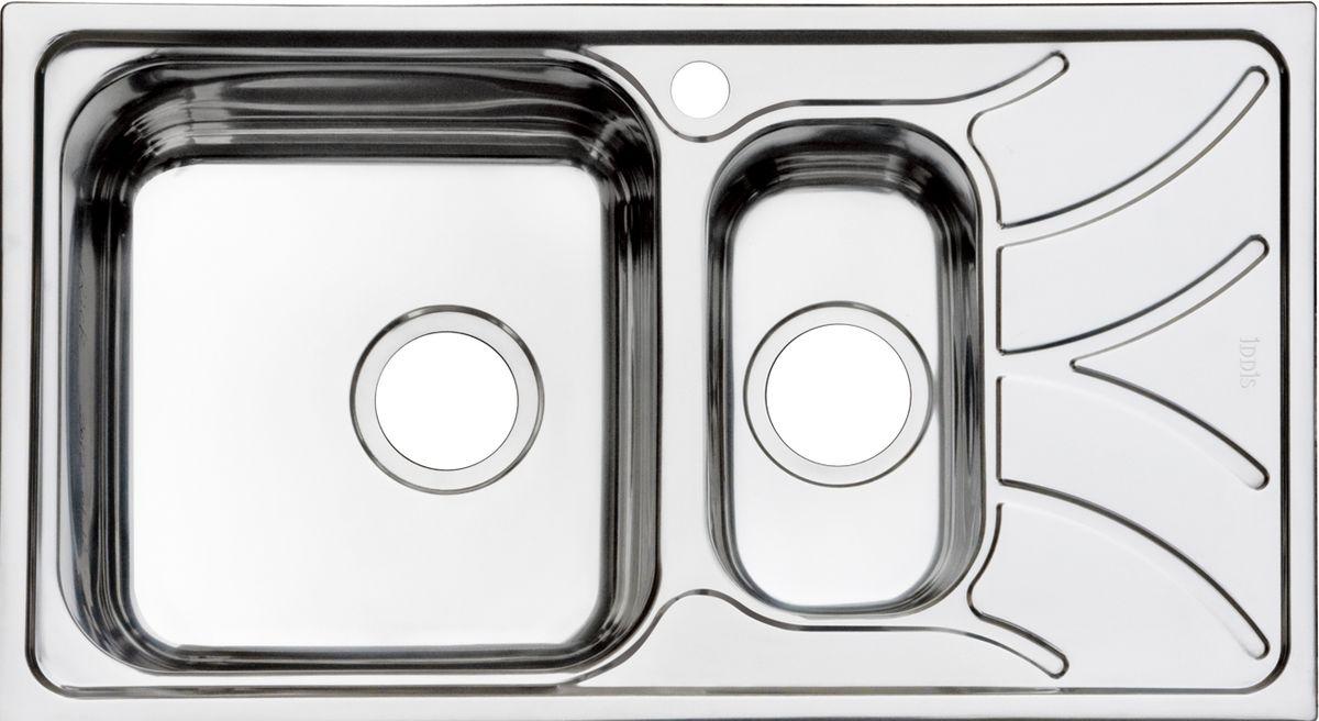 """Мойка Iddis """"Arro"""", полированная, 1 1/2, чаша слева, 78 х 44 см. ARR78PXi77"""