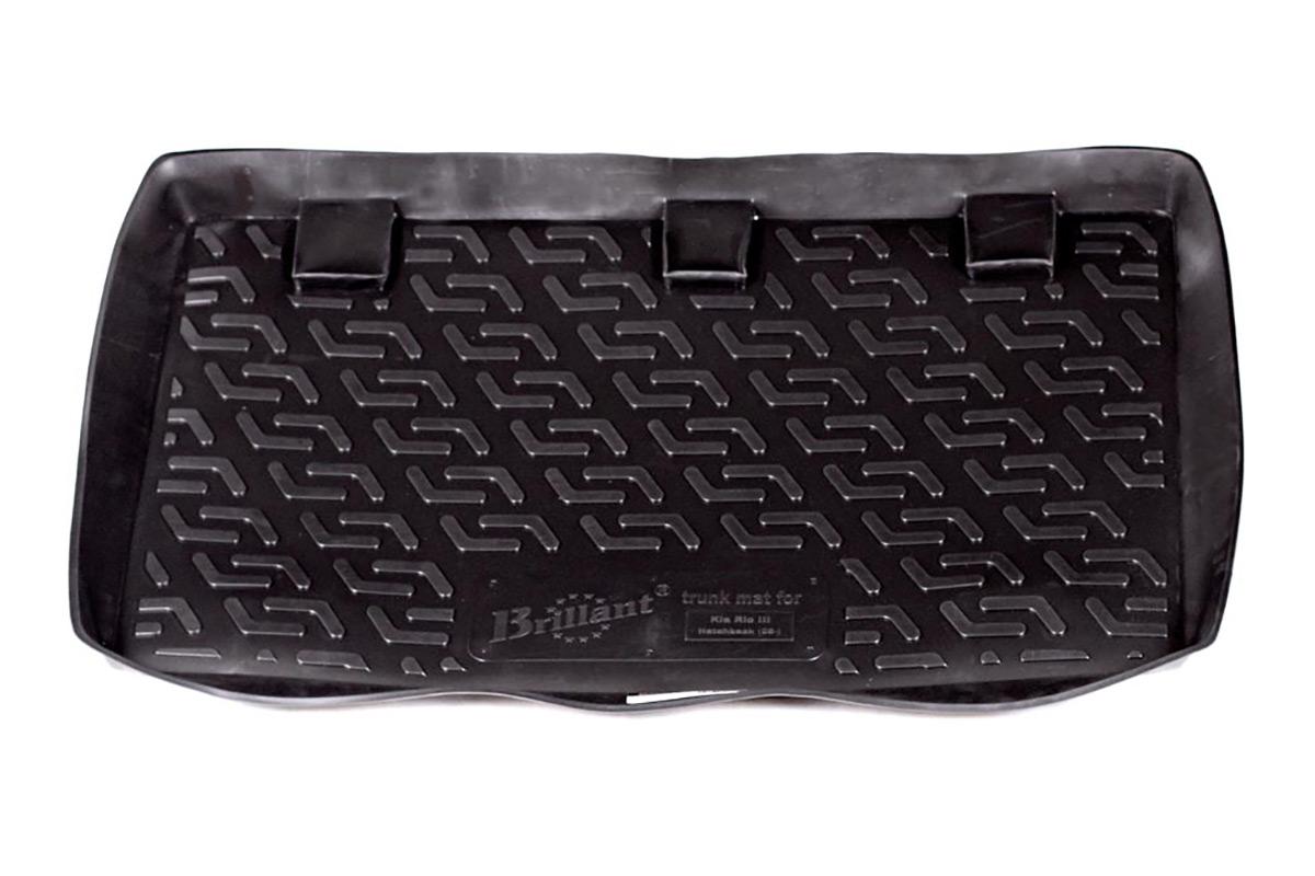 Коврик в багажник Kia Rio III hb (05-) полиуретанSC-FD421005Коврики производятся индивидуально для каждой модели автомобиля из современного и экологически чистого материала, точно повторяют геометрию пола автомобиля, имеют высокий борт от 4 см до 6 см., обладают повышенной износоустойчивостью, антискользящими свойствами, лишены резкого запаха, сохраняют свои потребительские свойства в широком диапазоне температур (-50 +80 С).