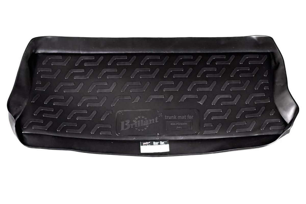 Коврик в багажник Kia Picanto hb (04-) полиуретан0103060101Коврики производятся индивидуально для каждой модели автомобиля из современного и экологически чистого материала, точно повторяют геометрию пола автомобиля, имеют высокий борт от 4 см до 6 см., обладают повышенной износоустойчивостью, антискользящими свойствами, лишены резкого запаха, сохраняют свои потребительские свойства в широком диапазоне температур (-50 +80 С).