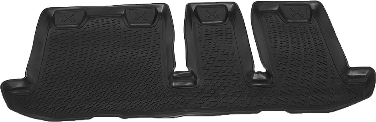 Коврики в салон автомобиля L.Locker, для Nissan Pathfinder IV (12-), третий ряд сиденийSC-FD421005Коврики L.Locker производятся индивидуально для каждой модели автомобиля из современного и экологически чистого материала. Изделия точно повторяют геометрию пола автомобиля, имеют высокий борт, обладают повышенной износоустойчивостью, антискользящими свойствами, лишены резкого запаха и сохраняют свои потребительские свойства в широком диапазоне температур (от -50°С до +80°С). Рисунок ковриков специально спроектирован для уменьшения скольжения ног водителя и имеет достаточную глубину, препятствующую свободному перемещению жидкости и грязи на поверхности. Одновременно с этим рисунок не создает дискомфорта при вождении автомобиля. Водительский ковер с предустановленными креплениями фиксируется на штатные места в полу салона автомобиля. Новая технология системы креплений герметична, не дает влаге и грязи проникать внутрь через крепеж на обшивку пола.