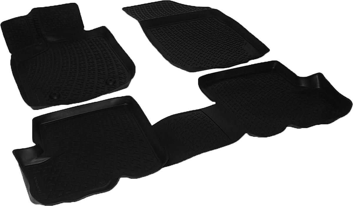 Коврики в салон автомобиля L.Locker, для Renault Sandero Stepway (10-), 4 шт0206070201Коврики L.Locker производятся индивидуально для каждой модели автомобиля из современного и экологически чистого материала. Изделия точно повторяют геометрию пола автомобиля, имеют высокий борт, обладают повышенной износоустойчивостью, антискользящими свойствами, лишены резкого запаха и сохраняют свои потребительские свойства в широком диапазоне температур (от -50°С до +80°С). Рисунок ковриков специально спроектирован для уменьшения скольжения ног водителя и имеет достаточную глубину, препятствующую свободному перемещению жидкости и грязи на поверхности. Одновременно с этим рисунок не создает дискомфорта при вождении автомобиля. Водительский ковер с предустановленными креплениями фиксируется на штатные места в полу салона автомобиля. Новая технология системы креплений герметична, не дает влаге и грязи проникать внутрь через крепеж на обшивку пола.