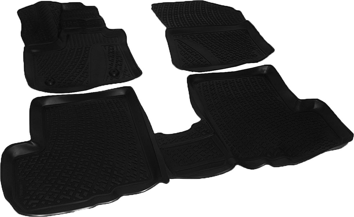 Коврики в салон автомобиля L.Locker, для Renault Lodgy (12-), 3 штSC-FD421005Коврики L.Locker производятся индивидуально для каждой модели автомобиля из современного и экологически чистого материала. Изделия точно повторяют геометрию пола автомобиля, имеют высокий борт, обладают повышенной износоустойчивостью, антискользящими свойствами, лишены резкого запаха и сохраняют свои потребительские свойства в широком диапазоне температур (от -50°С до +80°С). Рисунок ковриков специально спроектирован для уменьшения скольжения ног водителя и имеет достаточную глубину, препятствующую свободному перемещению жидкости и грязи на поверхности. Одновременно с этим рисунок не создает дискомфорта при вождении автомобиля. Водительский ковер с предустановленными креплениями фиксируется на штатные места в полу салона автомобиля. Новая технология системы креплений герметична, не дает влаге и грязи проникать внутрь через крепеж на обшивку пола.