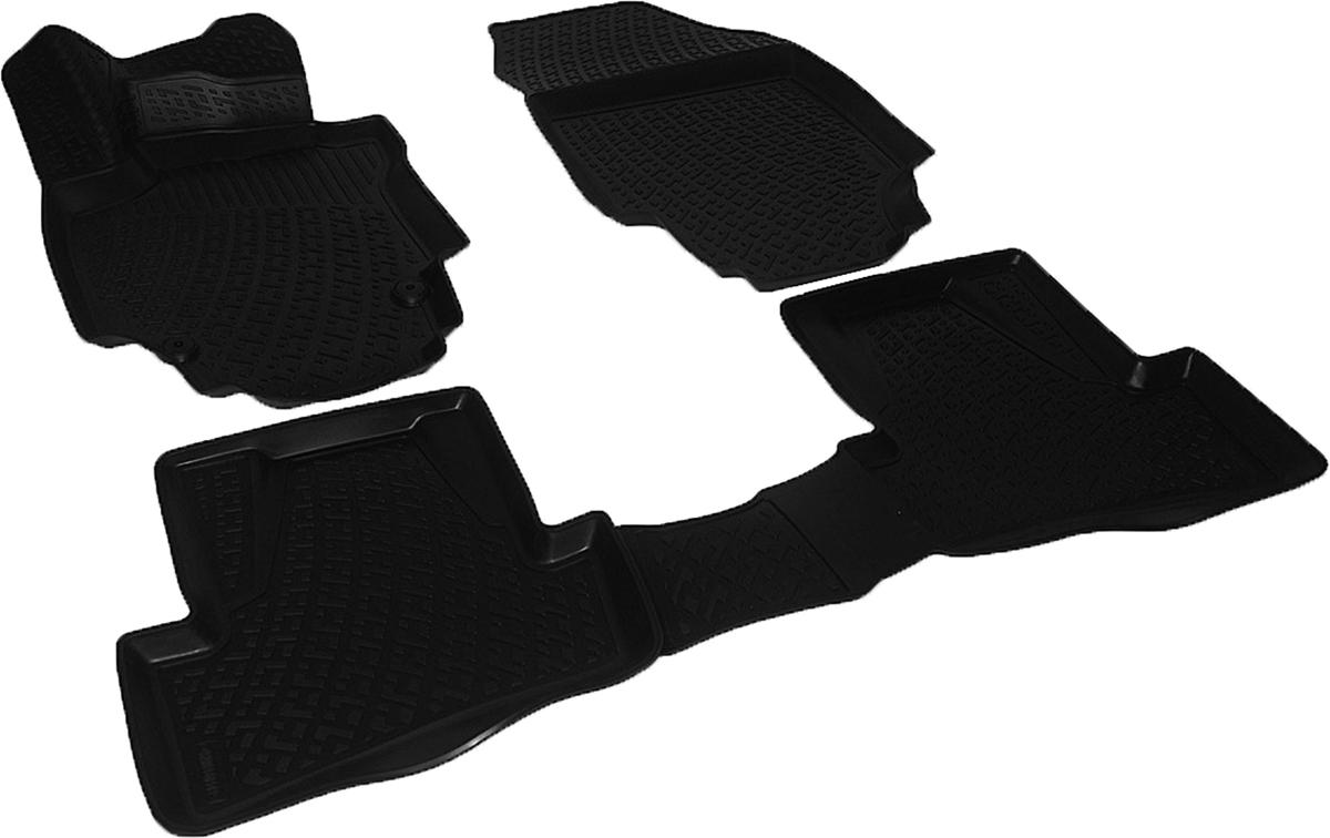 Коврики в салон автомобиля L.Locker, для Renault Captur (14-)SC-FD421005Коврики L.Locker производятся индивидуально для каждой модели автомобиля из современного и экологически чистого материала. Изделия точно повторяют геометрию пола автомобиля, имеют высокий борт, обладают повышенной износоустойчивостью, антискользящими свойствами, лишены резкого запаха и сохраняют свои потребительские свойства в широком диапазоне температур (от -50°С до +80°С). Рисунок ковриков специально спроектирован для уменьшения скольжения ног водителя и имеет достаточную глубину, препятствующую свободному перемещению жидкости и грязи на поверхности. Одновременно с этим рисунок не создает дискомфорта при вождении автомобиля. Водительский ковер с предустановленными креплениями фиксируется на штатные места в полу салона автомобиля. Новая технология системы креплений герметична, не дает влаге и грязи проникать внутрь через крепеж на обшивку пола.