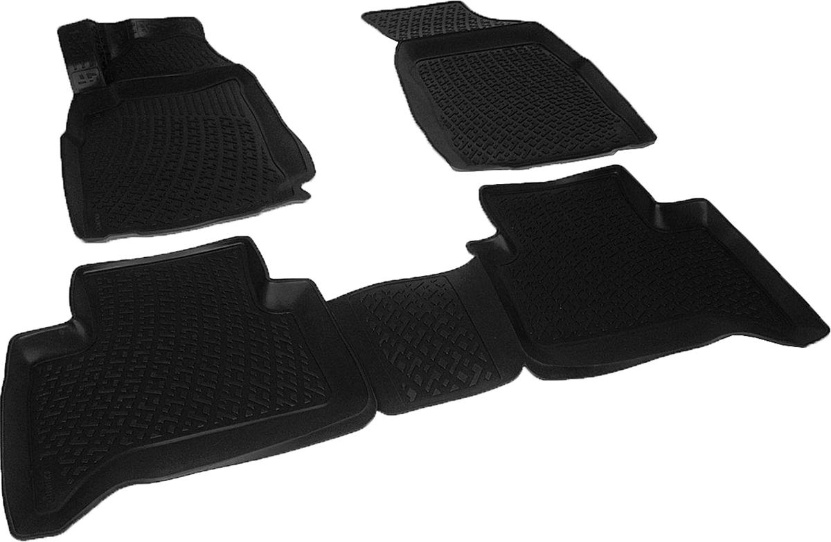 Коврики в салон автомобиля L.Locker, для Сhevrolet TrailBlazer II (12-)0207140101Коврики L.Locker производятся индивидуально для каждой модели автомобиля из современного и экологически чистого материала. Изделия точно повторяют геометрию пола автомобиля, имеют высокий борт, обладают повышенной износоустойчивостью, антискользящими свойствами, лишены резкого запаха и сохраняют свои потребительские свойства в широком диапазоне температур (от -50°С до +80°С). Рисунок ковриков специально спроектирован для уменьшения скольжения ног водителя и имеет достаточную глубину, препятствующую свободному перемещению жидкости и грязи на поверхности. Одновременно с этим рисунок не создает дискомфорта при вождении автомобиля. Водительский ковер с предустановленными креплениями фиксируется на штатные места в полу салона автомобиля. Новая технология системы креплений герметична, не дает влаге и грязи проникать внутрь через крепеж на обшивку пола.