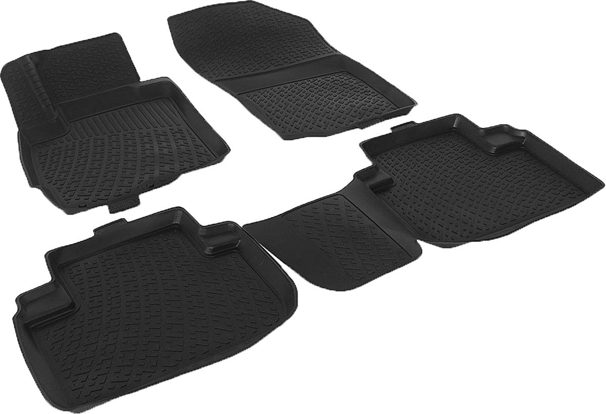 Коврики в салон автомобиля L.Locker, для Mitsubishi Outlander III (12-)0208010401Коврики L.Locker производятся индивидуально для каждой модели автомобиля из современного и экологически чистого материала. Изделия точно повторяют геометрию пола автомобиля, имеют высокий борт, обладают повышенной износоустойчивостью, антискользящими свойствами, лишены резкого запаха и сохраняют свои потребительские свойства в широком диапазоне температур (от -50°С до +80°С). Рисунок ковриков специально спроектирован для уменьшения скольжения ног водителя и имеет достаточную глубину, препятствующую свободному перемещению жидкости и грязи на поверхности. Одновременно с этим рисунок не создает дискомфорта при вождении автомобиля. Водительский ковер с предустановленными креплениями фиксируется на штатные места в полу салона автомобиля. Новая технология системы креплений герметична, не дает влаге и грязи проникать внутрь через крепеж на обшивку пола.