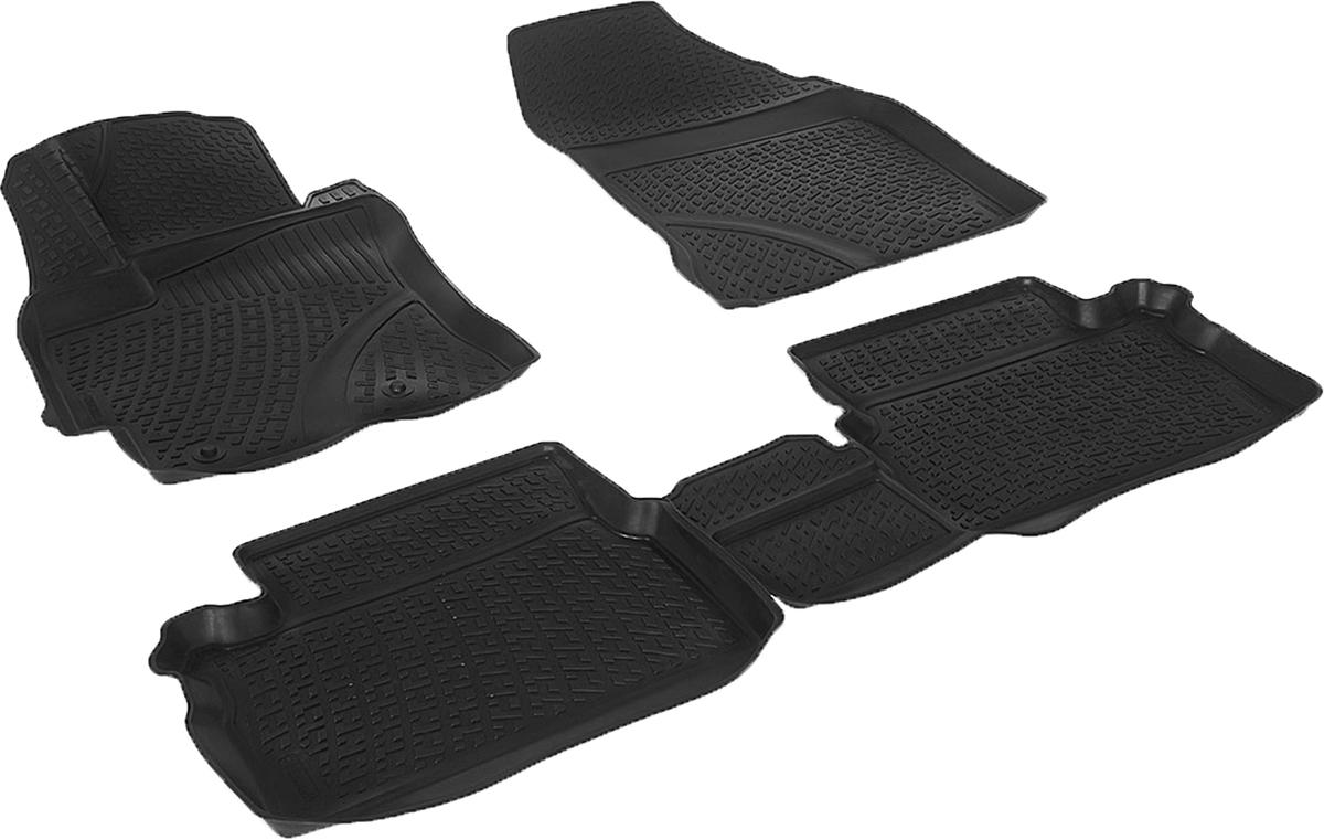 Коврики в салон автомобиля L.Locker, для Toyota Auris II (12-)0209030201Коврики L.Locker производятся индивидуально для каждой модели автомобиля из современного и экологически чистого материала. Изделия точно повторяют геометрию пола автомобиля, имеют высокий борт, обладают повышенной износоустойчивостью, антискользящими свойствами, лишены резкого запаха и сохраняют свои потребительские свойства в широком диапазоне температур (от -50°С до +80°С). Рисунок ковриков специально спроектирован для уменьшения скольжения ног водителя и имеет достаточную глубину, препятствующую свободному перемещению жидкости и грязи на поверхности. Одновременно с этим рисунок не создает дискомфорта при вождении автомобиля. Водительский ковер с предустановленными креплениями фиксируется на штатные места в полу салона автомобиля. Новая технология системы креплений герметична, не дает влаге и грязи проникать внутрь через крепеж на обшивку пола.