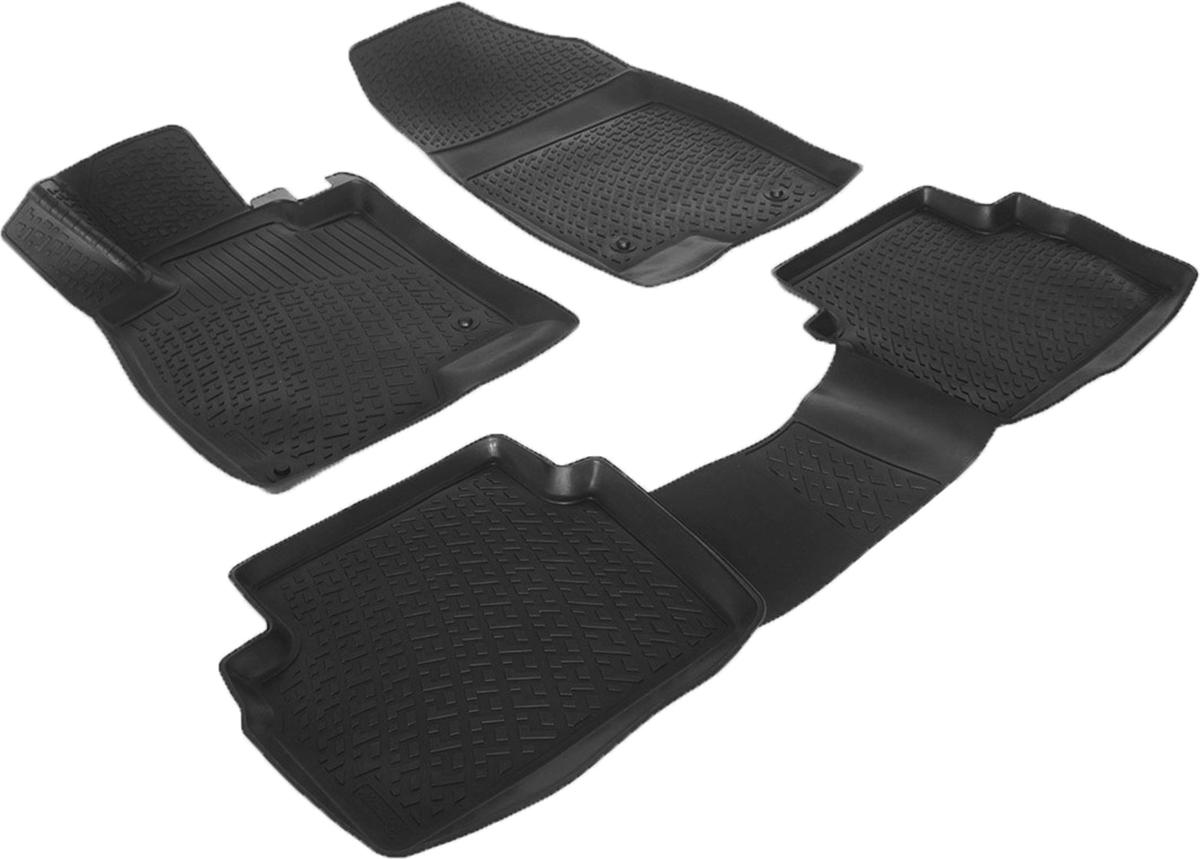 Коврики в салон автомобиля L.Locker, для Mazda 3 III (13-)0210020501Коврики L.Locker производятся индивидуально для каждой модели автомобиля из современного и экологически чистого материала. Изделия точно повторяют геометрию пола автомобиля, имеют высокий борт, обладают повышенной износоустойчивостью, антискользящими свойствами, лишены резкого запаха и сохраняют свои потребительские свойства в широком диапазоне температур (от -50°С до +80°С). Рисунок ковриков специально спроектирован для уменьшения скольжения ног водителя и имеет достаточную глубину, препятствующую свободному перемещению жидкости и грязи на поверхности. Одновременно с этим рисунок не создает дискомфорта при вождении автомобиля. Водительский ковер с предустановленными креплениями фиксируется на штатные места в полу салона автомобиля. Новая технология системы креплений герметична, не дает влаге и грязи проникать внутрь через крепеж на обшивку пола.