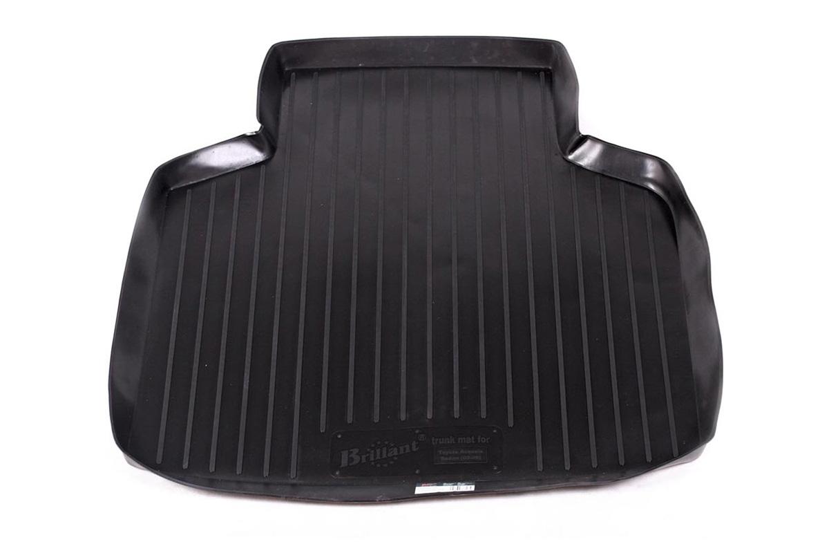 Коврик в багажник Toyota Avensis sd (02-08) полиуретанCA-3505Коврики производятся индивидуально для каждой модели автомобиля из современного и экологически чистого материала, точно повторяют геометрию пола автомобиля, имеют высокий борт от 4 см до 6 см., обладают повышенной износоустойчивостью, антискользящими свойствами, лишены резкого запаха, сохраняют свои потребительские свойства в широком диапазоне температур (-50 +80 С).