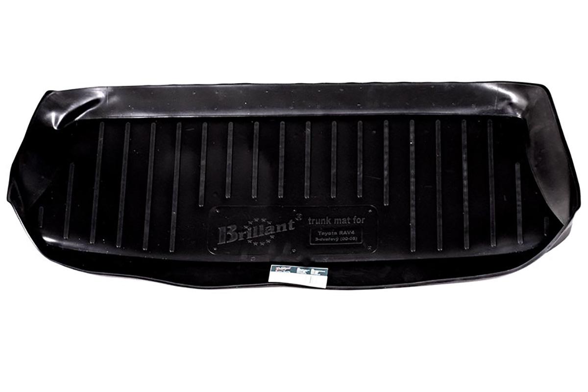 Коврик в багажник Toyota RAV4 3dr. (00-05) полиуретан0109040201Коврики производятся индивидуально для каждой модели автомобиля из современного и экологически чистого материала, точно повторяют геометрию пола автомобиля, имеют высокий борт от 4 см до 6 см., обладают повышенной износоустойчивостью, антискользящими свойствами, лишены резкого запаха, сохраняют свои потребительские свойства в широком диапазоне температур (-50 +80 С).