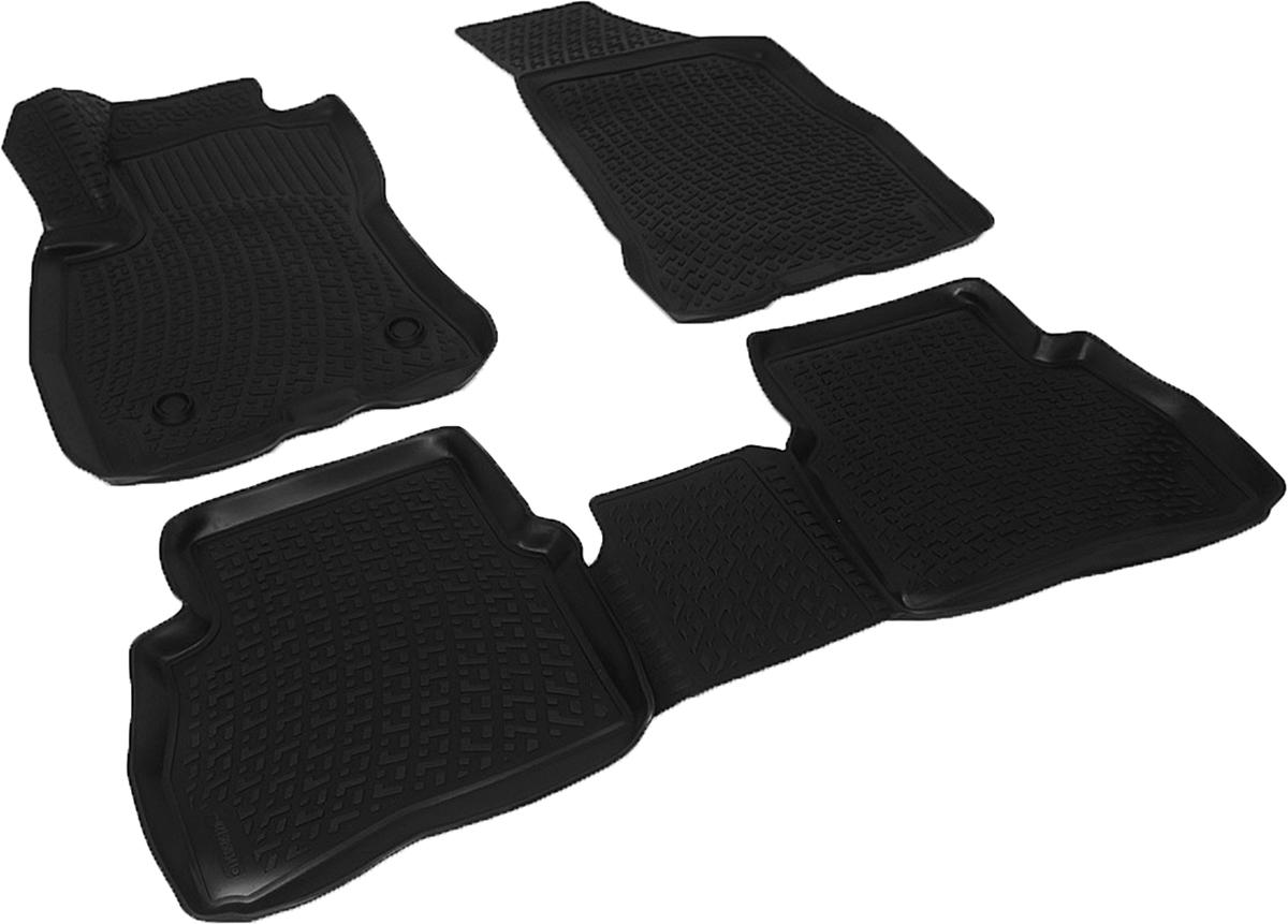 Коврики в салон автомобиля L.Locker, для Fiat Doblo II (15-)0215050301Коврики L.Locker производятся индивидуально для каждой модели автомобиля из современного и экологически чистого материала. Изделия точно повторяют геометрию пола автомобиля, имеют высокий борт, обладают повышенной износоустойчивостью, антискользящими свойствами, лишены резкого запаха и сохраняют свои потребительские свойства в широком диапазоне температур (от -50°С до +80°С). Рисунок ковриков специально спроектирован для уменьшения скольжения ног водителя и имеет достаточную глубину, препятствующую свободному перемещению жидкости и грязи на поверхности. Одновременно с этим рисунок не создает дискомфорта при вождении автомобиля. Водительский ковер с предустановленными креплениями фиксируется на штатные места в полу салона автомобиля. Новая технология системы креплений герметична, не дает влаге и грязи проникать внутрь через крепеж на обшивку пола.