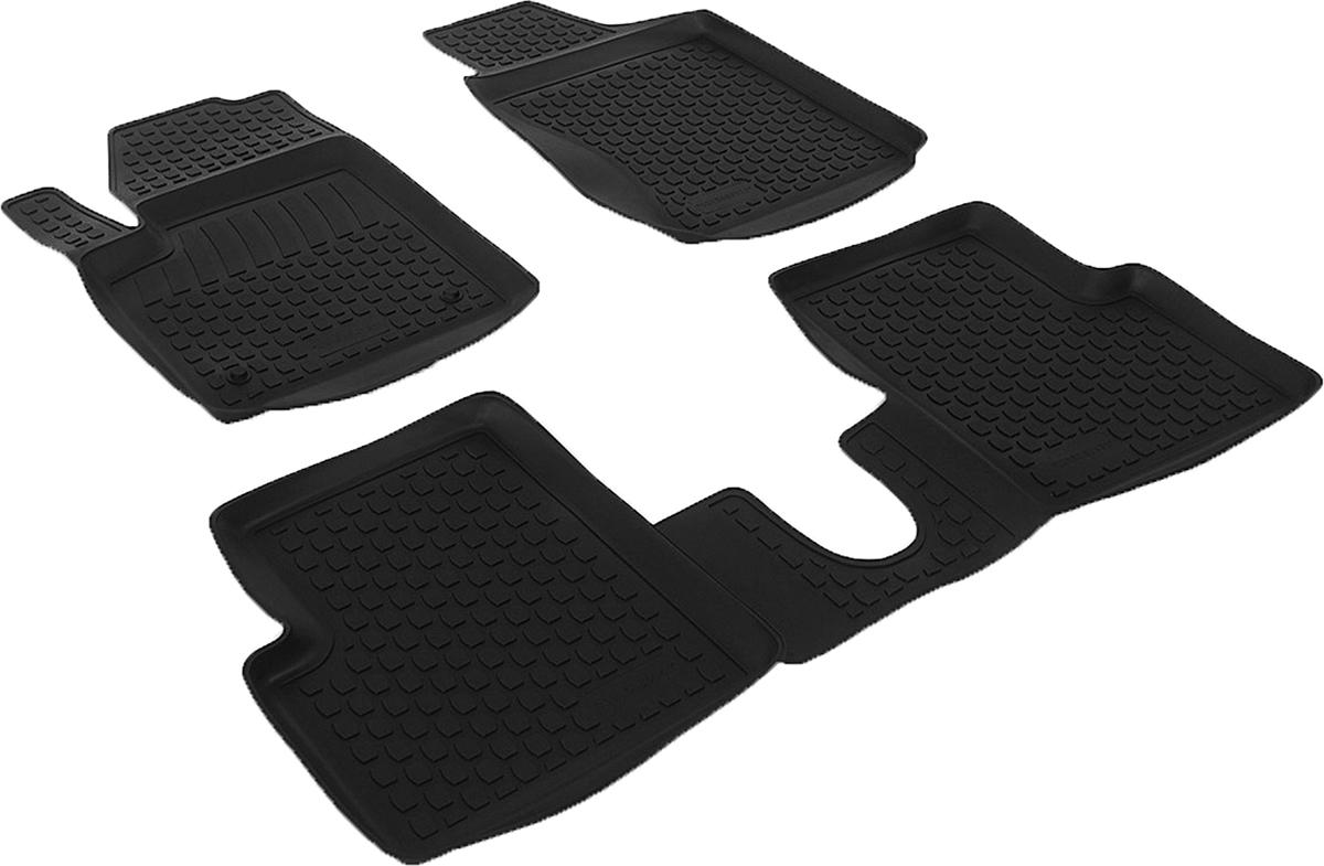 Коврики в салон автомобиля L.Locker, для Fiat 500 (08-), 3 штSC-FD421005Коврики L.Locker производятся индивидуально для каждой модели автомобиля из современного и экологически чистого материала. Изделия точно повторяют геометрию пола автомобиля, имеют высокий борт, обладают повышенной износоустойчивостью, антискользящими свойствами, лишены резкого запаха и сохраняют свои потребительские свойства в широком диапазоне температур (от -50°С до +80°С). Рисунок ковриков специально спроектирован для уменьшения скольжения ног водителя и имеет достаточную глубину, препятствующую свободному перемещению жидкости и грязи на поверхности. Одновременно с этим рисунок не создает дискомфорта при вождении автомобиля. Водительский ковер с предустановленными креплениями фиксируется на штатные места в полу салона автомобиля. Новая технология системы креплений герметична, не дает влаге и грязи проникать внутрь через крепеж на обшивку пола.