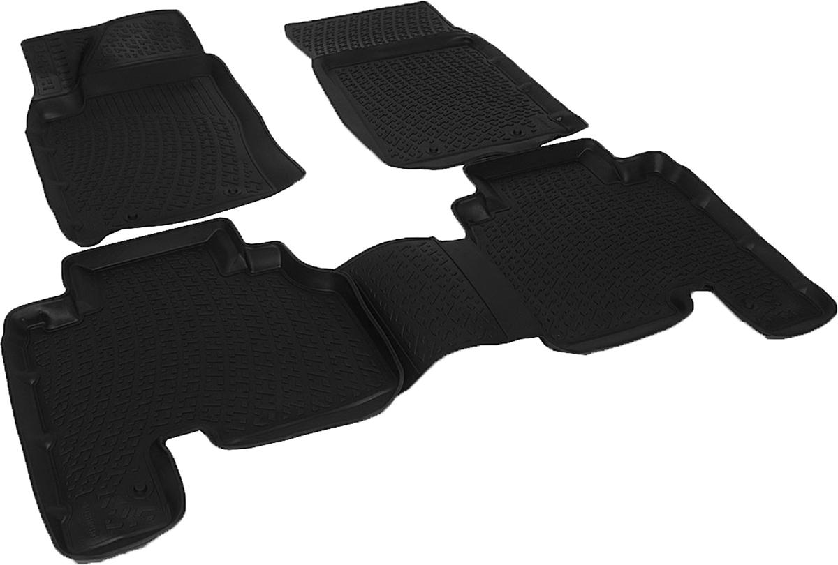Коврики в салон автомобиля L.Locker, для SangYong Actyon Sport (06-)SC-FD421005Коврики L.Locker производятся индивидуально для каждой модели автомобиля из современного и экологически чистого материала. Изделия точно повторяют геометрию пола автомобиля, имеют высокий борт, обладают повышенной износоустойчивостью, антискользящими свойствами, лишены резкого запаха и сохраняют свои потребительские свойства в широком диапазоне температур (от -50°С до +80°С). Рисунок ковриков специально спроектирован для уменьшения скольжения ног водителя и имеет достаточную глубину, препятствующую свободному перемещению жидкости и грязи на поверхности. Одновременно с этим рисунок не создает дискомфорта при вождении автомобиля. Водительский ковер с предустановленными креплениями фиксируется на штатные места в полу салона автомобиля. Новая технология системы креплений герметична, не дает влаге и грязи проникать внутрь через крепеж на обшивку пола.