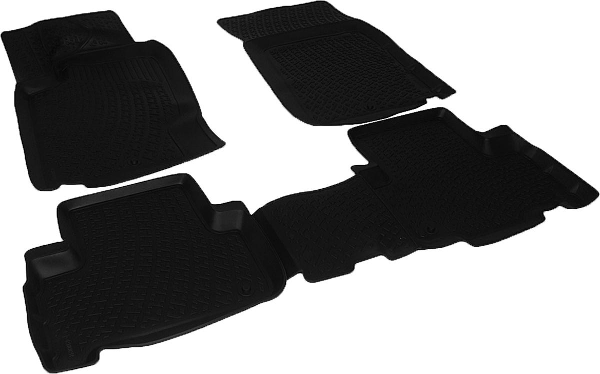 Коврики в салон автомобиля L.Locker, для SangYong Rexton III (12-)SC-FD421005Коврики L.Locker производятся индивидуально для каждой модели автомобиля из современного и экологически чистого материала. Изделия точно повторяют геометрию пола автомобиля, имеют высокий борт, обладают повышенной износоустойчивостью, антискользящими свойствами, лишены резкого запаха и сохраняют свои потребительские свойства в широком диапазоне температур (от -50°С до +80°С). Рисунок ковриков специально спроектирован для уменьшения скольжения ног водителя и имеет достаточную глубину, препятствующую свободному перемещению жидкости и грязи на поверхности. Одновременно с этим рисунок не создает дискомфорта при вождении автомобиля. Водительский ковер с предустановленными креплениями фиксируется на штатные места в полу салона автомобиля. Новая технология системы креплений герметична, не дает влаге и грязи проникать внутрь через крепеж на обшивку пола.