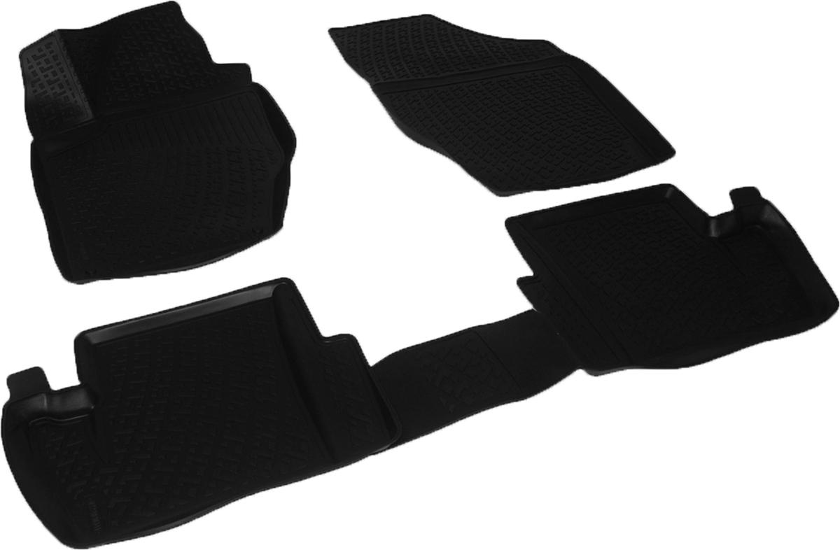 Коврики в салон автомобиля L.Locker, для Citroen C4 II hb (11-)0222020301Коврики L.Locker производятся индивидуально для каждой модели автомобиля из современного и экологически чистого материала. Изделия точно повторяют геометрию пола автомобиля, имеют высокий борт, обладают повышенной износоустойчивостью, антискользящими свойствами, лишены резкого запаха и сохраняют свои потребительские свойства в широком диапазоне температур (от -50°С до +80°С). Рисунок ковриков специально спроектирован для уменьшения скольжения ног водителя и имеет достаточную глубину, препятствующую свободному перемещению жидкости и грязи на поверхности. Одновременно с этим рисунок не создает дискомфорта при вождении автомобиля. Водительский ковер с предустановленными креплениями фиксируется на штатные места в полу салона автомобиля. Новая технология системы креплений герметична, не дает влаге и грязи проникать внутрь через крепеж на обшивку пола.