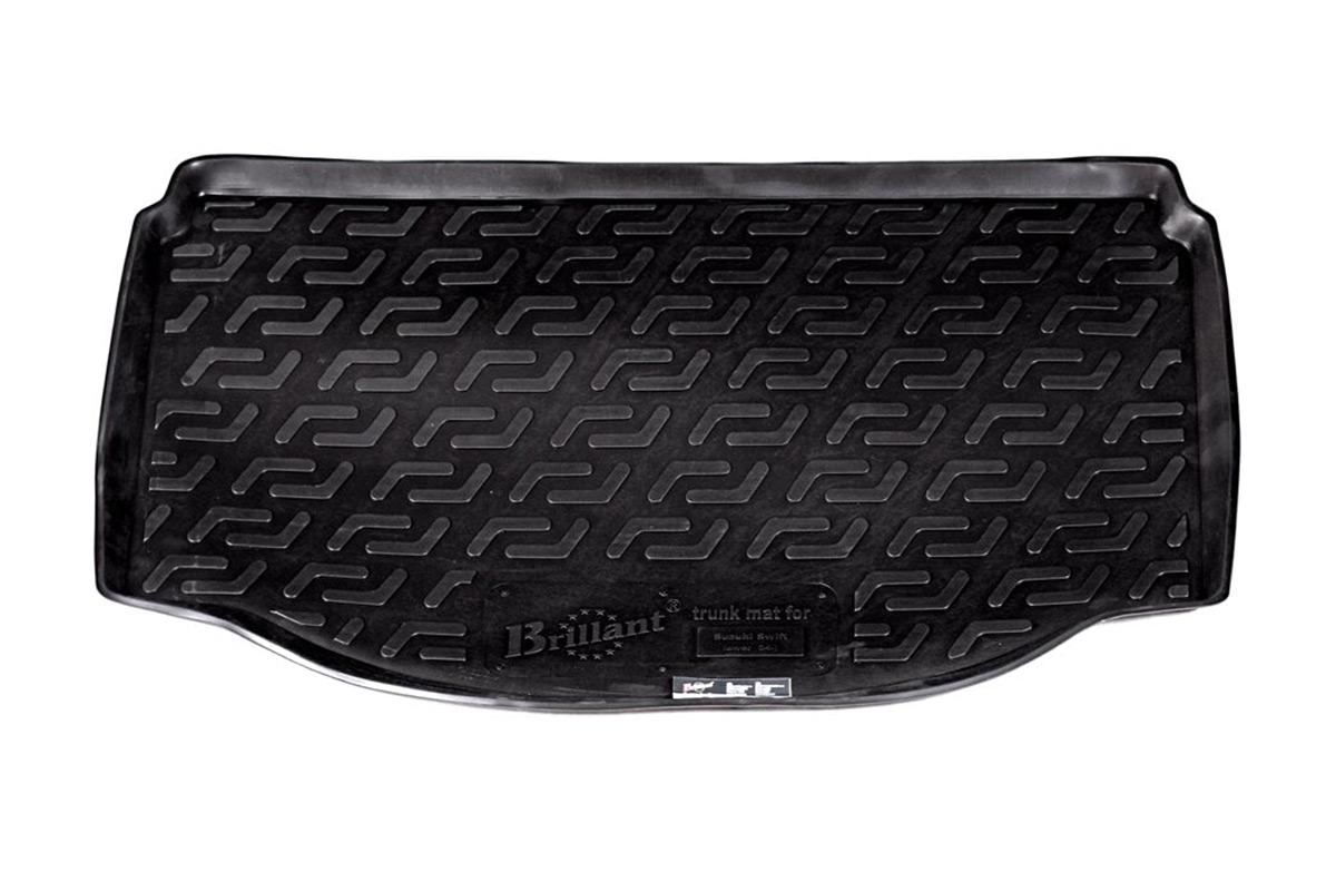 Коврик в багажник Suzuki Swift нижний (04-) полиуретан0112030101Коврики производятся индивидуально для каждой модели автомобиля из современного и экологически чистого материала, точно повторяют геометрию пола автомобиля, имеют высокий борт от 4 см до 6 см., обладают повышенной износоустойчивостью, антискользящими свойствами, лишены резкого запаха, сохраняют свои потребительские свойства в широком диапазоне температур (-50 +80 С).