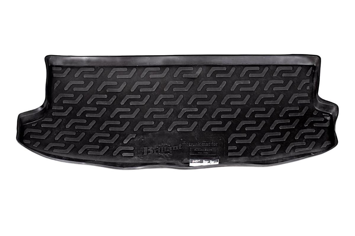 Коврик в багажник Suzuki Swift верхний (04-) полиуретан0112030201Коврики производятся индивидуально для каждой модели автомобиля из современного и экологически чистого материала, точно повторяют геометрию пола автомобиля, имеют высокий борт от 4 см до 6 см., обладают повышенной износоустойчивостью, антискользящими свойствами, лишены резкого запаха, сохраняют свои потребительские свойства в широком диапазоне температур (-50 +80 С).
