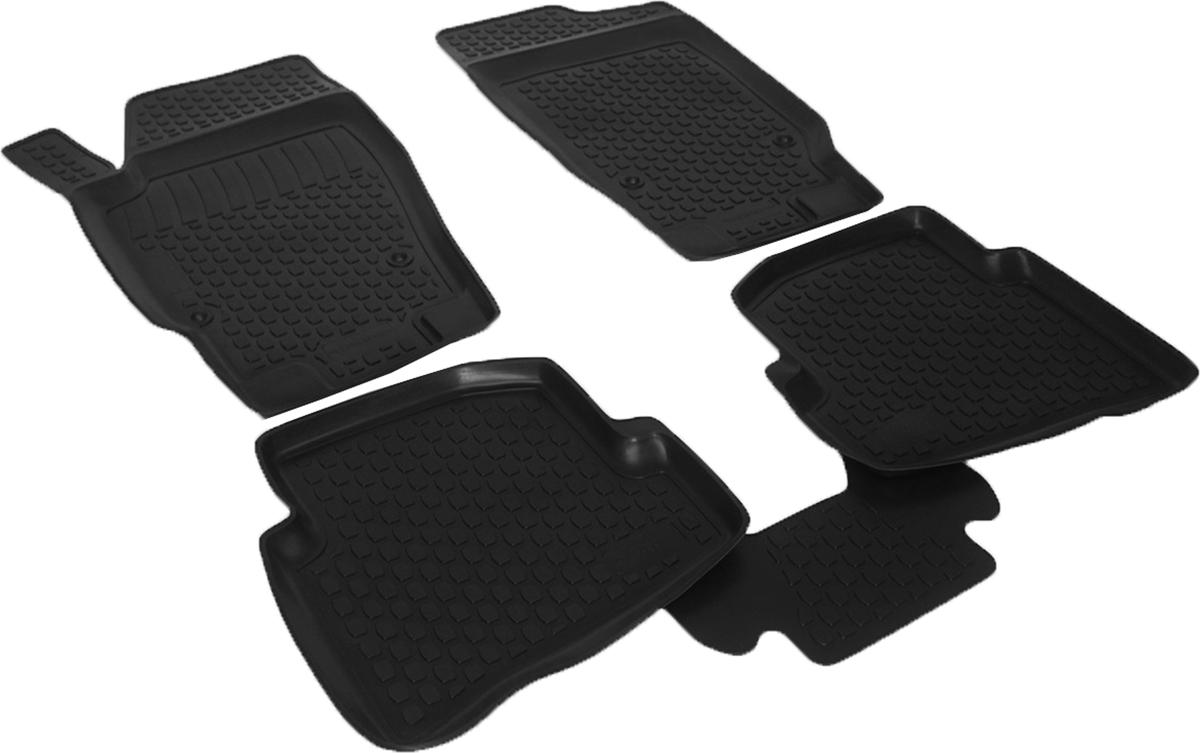 Коврики в салон автомобиля L.Locker, для Seat Ibiza IV (08-), 4 штCA-3505Коврики L.Locker производятся индивидуально для каждой модели автомобиля из современного и экологически чистого материала. Изделия точно повторяют геометрию пола автомобиля, имеют высокий борт, обладают повышенной износоустойчивостью, антискользящими свойствами, лишены резкого запаха и сохраняют свои потребительские свойства в широком диапазоне температур (от -50°С до +80°С). Рисунок ковриков специально спроектирован для уменьшения скольжения ног водителя и имеет достаточную глубину, препятствующую свободному перемещению жидкости и грязи на поверхности. Одновременно с этим рисунок не создает дискомфорта при вождении автомобиля. Водительский ковер с предустановленными креплениями фиксируется на штатные места в полу салона автомобиля. Новая технология системы креплений герметична, не дает влаге и грязи проникать внутрь через крепеж на обшивку пола.