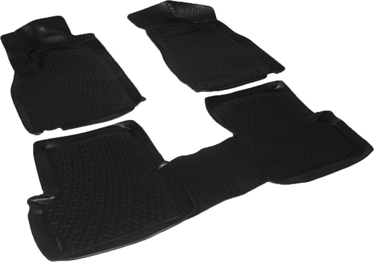 Коврики в салон автомобиля L.Locker, для MG 3 Cross hb (13-), 3 шт0224040101Коврики L.Locker производятся индивидуально для каждой модели автомобиля из современного и экологически чистого материала. Изделия точно повторяют геометрию пола автомобиля, имеют высокий борт, обладают повышенной износоустойчивостью, антискользящими свойствами, лишены резкого запаха и сохраняют свои потребительские свойства в широком диапазоне температур (от -50°С до +80°С). Рисунок ковриков специально спроектирован для уменьшения скольжения ног водителя и имеет достаточную глубину, препятствующую свободному перемещению жидкости и грязи на поверхности. Одновременно с этим рисунок не создает дискомфорта при вождении автомобиля. Водительский ковер с предустановленными креплениями фиксируется на штатные места в полу салона автомобиля. Новая технология системы креплений герметична, не дает влаге и грязи проникать внутрь через крепеж на обшивку пола.