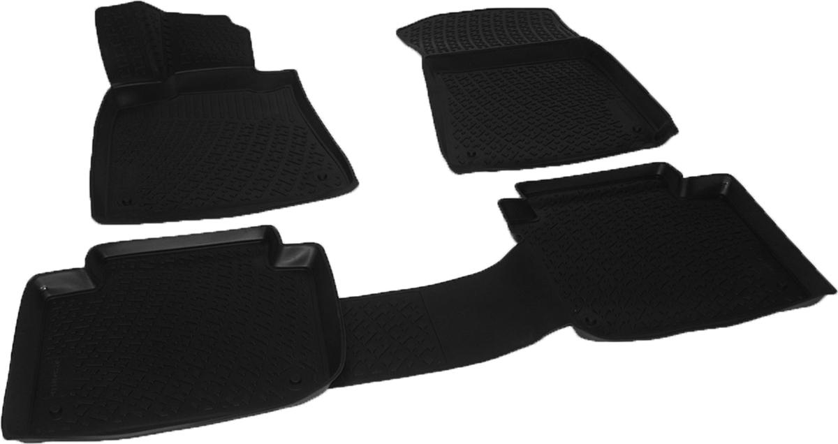 Коврики в салон автомобиля L.Locker, для Lexus GS sd (12-)SC-FD421005Коврики L.Locker производятся индивидуально для каждой модели автомобиля из современного и экологически чистого материала. Изделия точно повторяют геометрию пола автомобиля, имеют высокий борт, обладают повышенной износоустойчивостью, антискользящими свойствами, лишены резкого запаха и сохраняют свои потребительские свойства в широком диапазоне температур (от -50°С до +80°С). Рисунок ковриков специально спроектирован для уменьшения скольжения ног водителя и имеет достаточную глубину, препятствующую свободному перемещению жидкости и грязи на поверхности. Одновременно с этим рисунок не создает дискомфорта при вождении автомобиля. Водительский ковер с предустановленными креплениями фиксируется на штатные места в полу салона автомобиля. Новая технология системы креплений герметична, не дает влаге и грязи проникать внутрь через крепеж на обшивку пола.