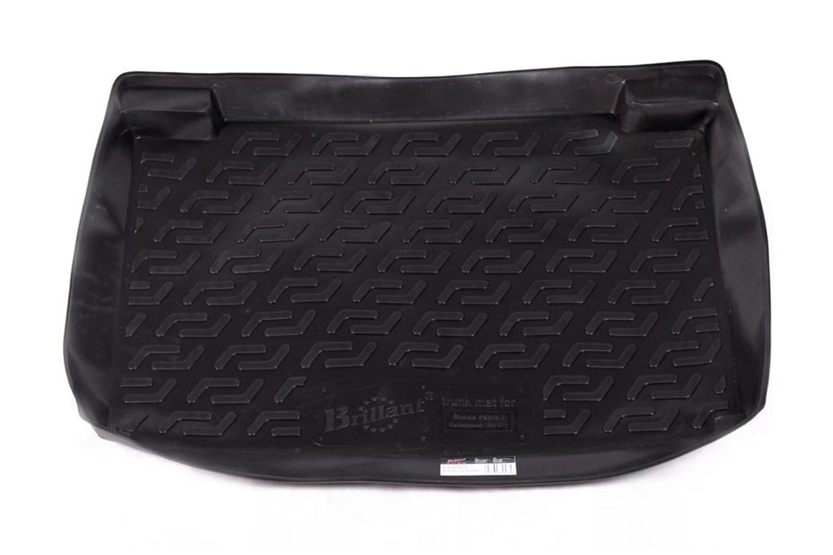 Коврик в багажник Skoda Fabia hb (99-07) полиуретан0116010101Коврики производятся индивидуально для каждой модели автомобиля из современного и экологически чистого материала, точно повторяют геометрию пола автомобиля, имеют высокий борт от 4 см до 6 см., обладают повышенной износоустойчивостью, антискользящими свойствами, лишены резкого запаха, сохраняют свои потребительские свойства в широком диапазоне температур (-50 +80 С).