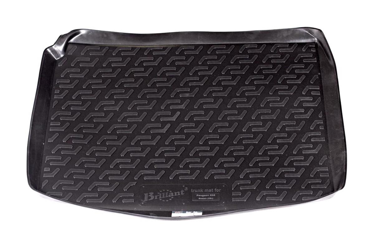 Коврик в багажник Peugeot 206 sd (06-) полиуретан0120040101Коврики производятся индивидуально для каждой модели автомобиля из современного и экологически чистого материала, точно повторяют геометрию пола автомобиля, имеют высокий борт от 4 см до 6 см., обладают повышенной износоустойчивостью, антискользящими свойствами, лишены резкого запаха, сохраняют свои потребительские свойства в широком диапазоне температур (-50 +80 С).