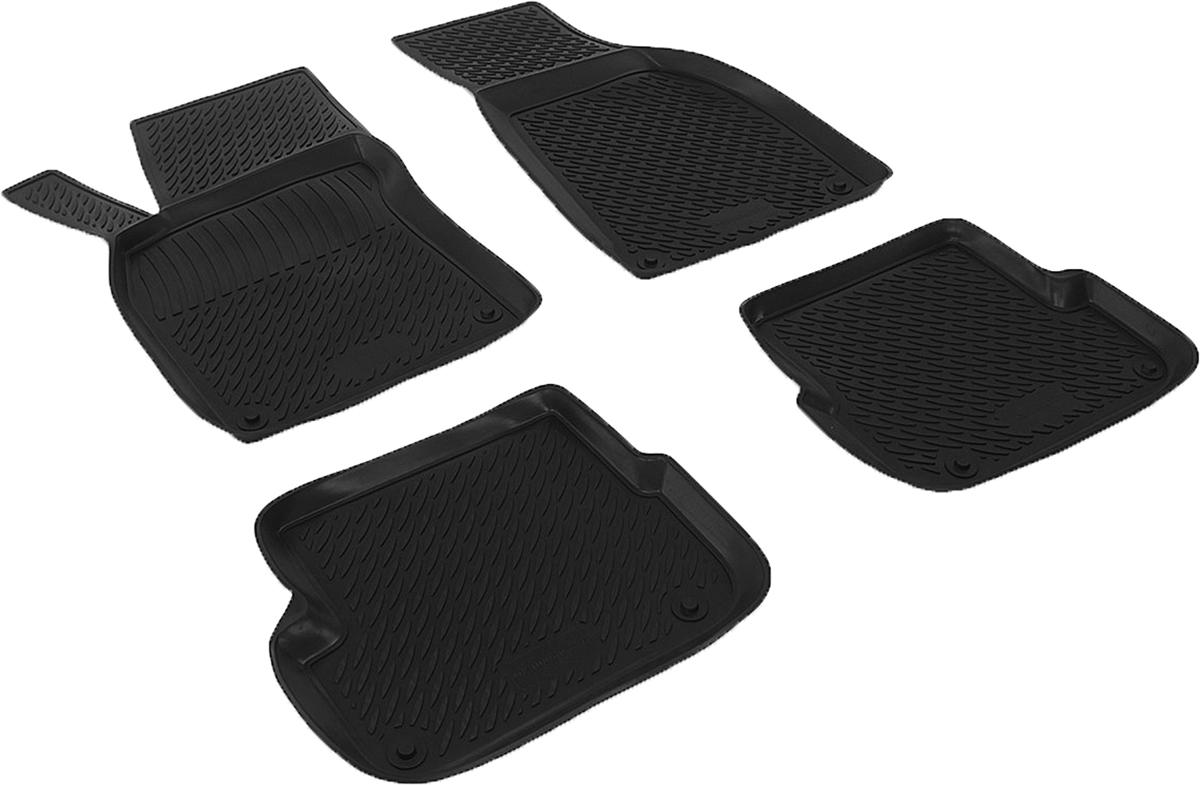 Коврики в салон автомобиля L.Locker, для Audi A6 (08-), 4 штSC-FD421005Коврики L.Locker производятся индивидуально для каждой модели автомобиля из современного и экологически чистого материала. Изделия точно повторяют геометрию пола автомобиля, имеют высокий борт, обладают повышенной износоустойчивостью, антискользящими свойствами, лишены резкого запаха и сохраняют свои потребительские свойства в широком диапазоне температур (от -50°С до +80°С). Рисунок ковриков специально спроектирован для уменьшения скольжения ног водителя и имеет достаточную глубину, препятствующую свободному перемещению жидкости и грязи на поверхности. Одновременно с этим рисунок не создает дискомфорта при вождении автомобиля. Водительский ковер с предустановленными креплениями фиксируется на штатные места в полу салона автомобиля. Новая технология системы креплений герметична, не дает влаге и грязи проникать внутрь через крепеж на обшивку пола.