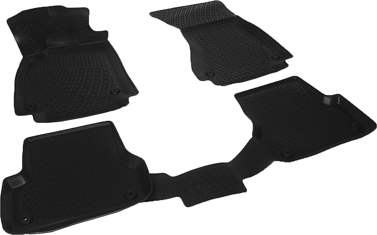 Коврики в салон автомобиля L.Locker, для Audi A6 IV (11-14)SC-FD421005Коврики L.Locker производятся индивидуально для каждой модели автомобиля из современного и экологически чистого материала. Изделия точно повторяют геометрию пола автомобиля, имеют высокий борт, обладают повышенной износоустойчивостью, антискользящими свойствами, лишены резкого запаха и сохраняют свои потребительские свойства в широком диапазоне температур (от -50°С до +80°С). Рисунок ковриков специально спроектирован для уменьшения скольжения ног водителя и имеет достаточную глубину, препятствующую свободному перемещению жидкости и грязи на поверхности. Одновременно с этим рисунок не создает дискомфорта при вождении автомобиля. Водительский ковер с предустановленными креплениями фиксируется на штатные места в полу салона автомобиля. Новая технология системы креплений герметична, не дает влаге и грязи проникать внутрь через крепеж на обшивку пола.