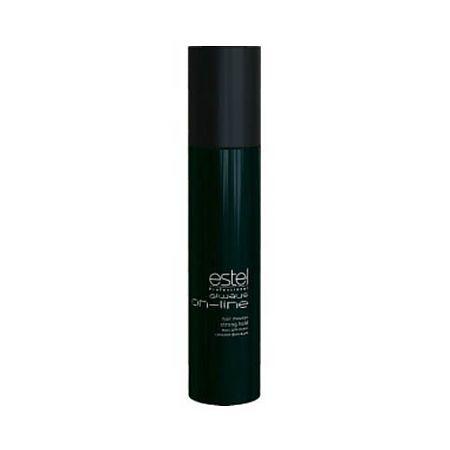 Estel Always On-Line Мусс для волос сильная фиксация 300 млOL.6Estel Always On-Line Мусс для волос сильная фиксация обеспечивает волосам длительную фиксацию и объём. Придает укладке чёткое очертание и фиксирует локоны. Делает волосы пластичными и податливыми к укладке. Профессиональная формула с витамином Е, провитамином B5 и экстрактом личи ухаживает за кожей головы, увлажняет, укрепляет волосы и придаёт им естественный блеск. Обладает антистатическим эффектом.