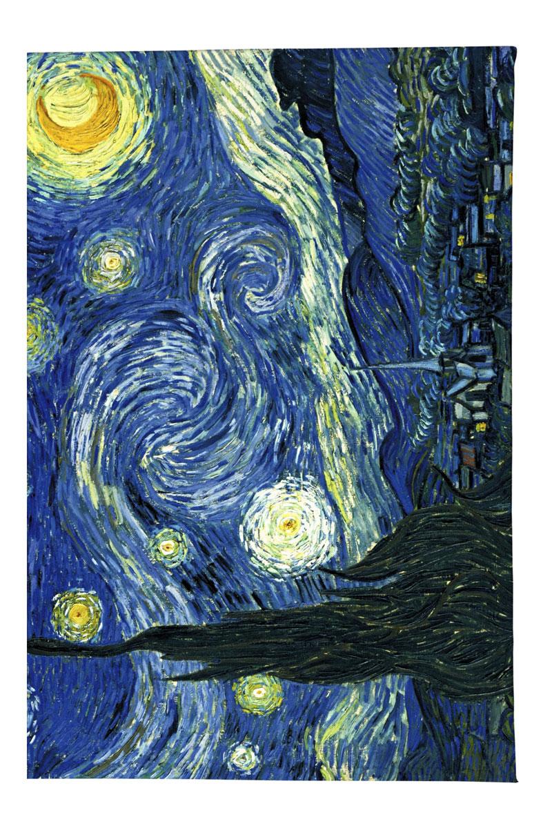 Обложка для автодокументов Mitya Veselkov Ван Гог Звездная ночь, цвет: синий. AUTOZAM002BM8434-58AEКачественная обложка для автодокументов Mitya Veselkov Ван Гог Звездная ночь выполнена из легкого и прочного ПВХ, который надежно защищает важные документы от пыли и влаги. Рисунок нанесён специальным образом и защищён от стирания. Изделие раскладывается пополам.Такая обложка поможет вам подчеркнуть свою индивидуальность!Обложка для автодокументов стильного дизайна может быть достойным и оригинальным подарком.