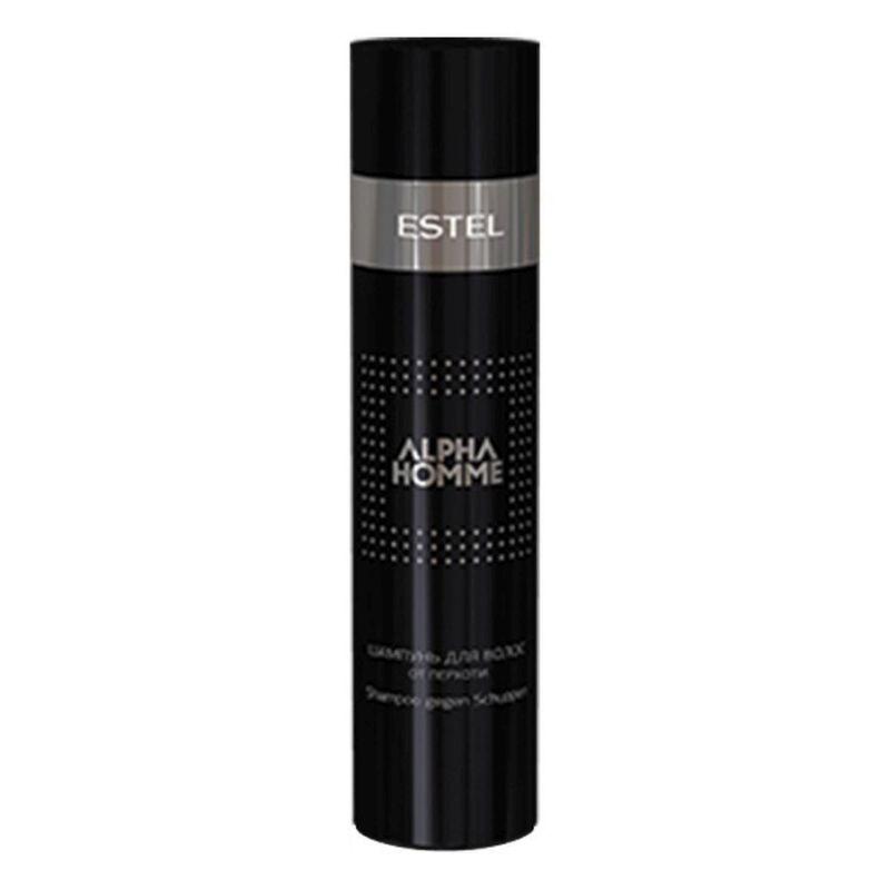 Estel Alpha Homme - Тонизирующий шампунь с охлаждающим эффектом для волос и тела 250 млБ33041_шампунь-барбарис и липа, скраб -черная смородинаПроблемы волос: Медленный рост волос Уникальная система двойного применения! Подходит одновременно для ухода за волосами и телом, сочетает в себе качества шампуня и геля – благодаря чему позволяет сохранить время для важных дел. Обеспечивая мягкий уход, он тонизирует, освежает и заряжает бодростью на весь день. Или на всю ночь.Результат: Ментол – оказывает противовоспалительное действие, тонизирует кожу головы Кофеин – стимулирует рост волос.