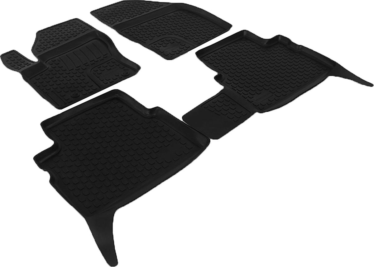 Коврики в салон Ford Kuga (08-) полиуретан0202110101Коврики производятся индивидуально для каждой модели автомобиля из современного и экологически чистого материала, точно повторяют геометрию пола автомобиля, имеют высокий борт от 3 см до 4 см., обладают повышенной износоустойчивостью, антискользящими свойствами, лишены резкого запаха, сохраняют свои потребительские свойства в широком диапазоне температур (-50 +80 С)