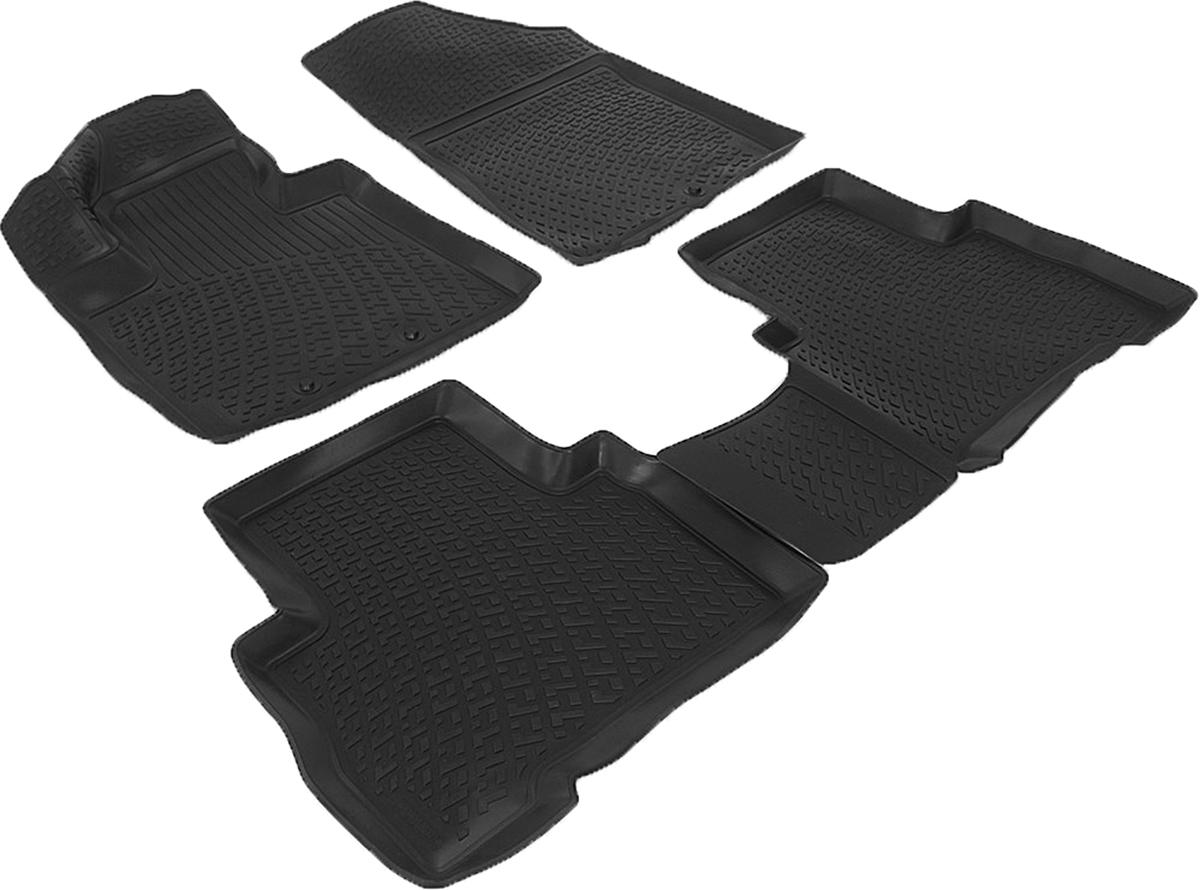 Коврики в салон автомобиля L.Locker, для Kia Sorento (12-)SC-FD421005Коврики L.Locker производятся индивидуально для каждой модели автомобиля из современного и экологически чистого материала. Изделия точно повторяют геометрию пола автомобиля, имеют высокий борт, обладают повышенной износоустойчивостью, антискользящими свойствами, лишены резкого запаха и сохраняют свои потребительские свойства в широком диапазоне температур (от -50°С до +80°С). Рисунок ковриков специально спроектирован для уменьшения скольжения ног водителя и имеет достаточную глубину, препятствующую свободному перемещению жидкости и грязи на поверхности. Одновременно с этим рисунок не создает дискомфорта при вождении автомобиля. Водительский ковер с предустановленными креплениями фиксируется на штатные места в полу салона автомобиля. Новая технология системы креплений герметична, не дает влаге и грязи проникать внутрь через крепеж на обшивку пола.