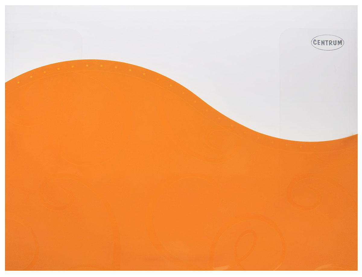 Centrum Папка пластиковая на резинке цвет оранжевый 83626_оранжевый