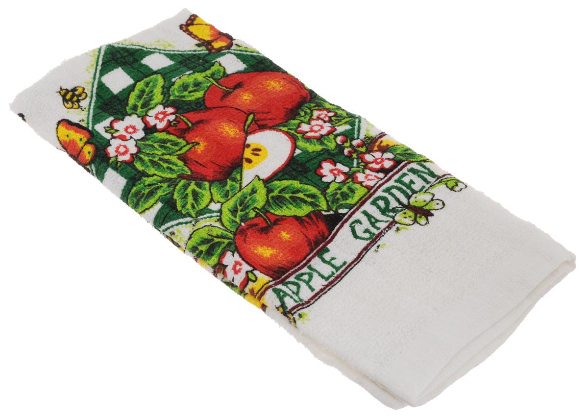 Полотенце кухонное Home Queen Яблоки, 38 х 64 смVT-1520(SR)Кухонное полотенце Home Queen Яблоки, выполненное из 100% хлопка, оформлено ярким рисунком. Изделие предназначено для использования на кухне и в столовой.Такое полотенце станет отличным вариантом для практичной и современной хозяйки.