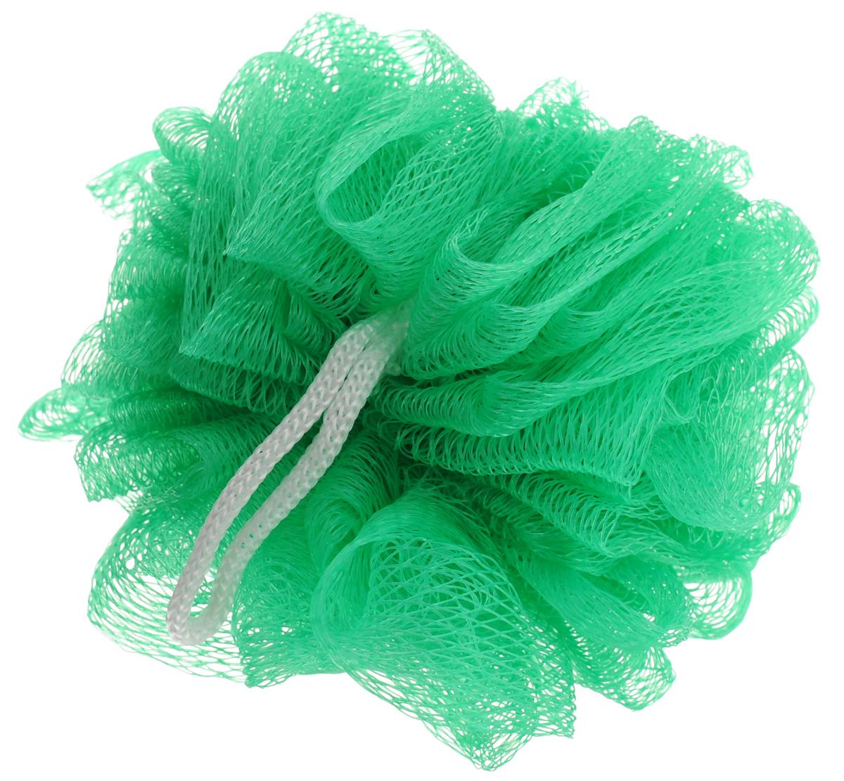 Мочалка Eva Бантик, цвет: зеленый, диаметр 9 смМС41_зеленыйМочалка Eva Бантик, выполненная из нейлона, предназначена для мягкого очищения кожи. Она станет незаменимым аксессуаром ванной комнаты. Мочалка отлично пенится, обладает легким массажным воздействием, идеально подходит для нежной и чувствительной кожи. На мочалке имеется удобная петля для подвешивания. Диаметр: 9 см.